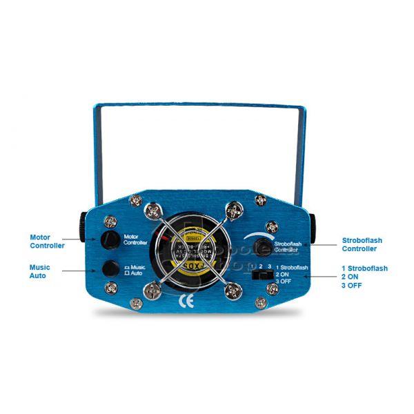 Mini Proiettore Laser Effetto Luci.Proiettore Laser Luce Stroboscopica Sikurit Technology Solutions