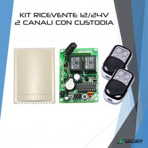 kit-ricevente-12V-24V-2-canali-custodia