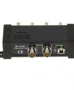 configurabile Sdoppiatore Splitter Video 12V BNC 4 IN 8 OUT