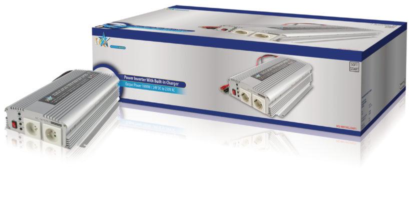 AC 230 V 1000 W F Power Inverter Onda Sinusoidale Modificata 12 VDC