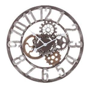 orologio da parete doppia faccia tipo stazione ferroviaria. Black Bedroom Furniture Sets. Home Design Ideas