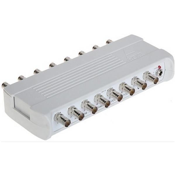 Sdoppiatore Splitter Video 12V BNC 8 IN – 16 OUT – 22 configurazioni –  Sikurit Technology Solutions